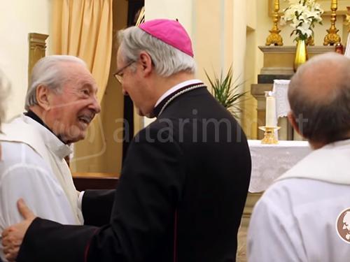 I 100 anni di don Probo Vaccarini